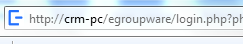 EGroupware URL